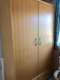 Habitat double wardrobe