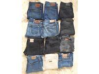 MENS Levis, Lee, Wrangler, Diesel jeans