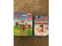 Paw patrol phonics books and cards