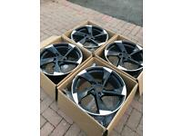 5x112 Audi Vw Mercedes golf a4 Passat a3 18 inch alloys rs4 ttrs tt caddy