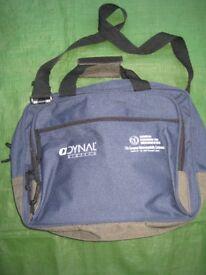 Blue Fabric European Laptop Bag