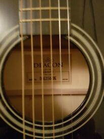 Deacon acoustic guitar