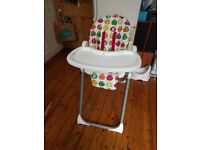 Red Kite Feed Me Deli Fruit High Chair