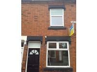**LET BY** 2 BEDROOM END TERRACE-ELM STREET-COBRIDGE-LOW RENT-DSS ACCEPTED-NO DEPOSIT-PETS WELCOME