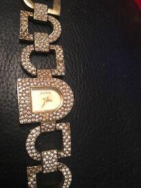 DKNY Diamanté Watch