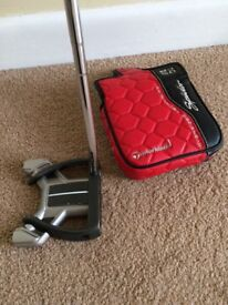 GOLF-TAYLORMADE SPIDER DADDY LONG LEGS, OS PUTTER, COUNTER BALANCED.