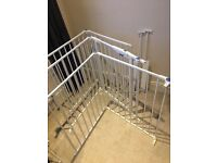 Lindam baby playpan/ room separator with gate