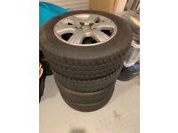 """VW T5 Transporter Alloy Wheels 205/65 R16 Set of 4 16"""" Wheels"""