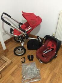 Quinny Buzz Pushchair with pebble car seat/travel system
