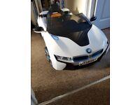 Bmw i8 ride on electric car