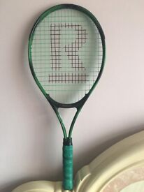 Junior tennis racket at only £10, more rackets are available, please call for details
