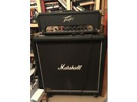Peavey Classic 50 head and Marshall JCM 900 4x12 half stack
