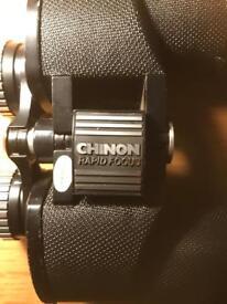 Binoculars. Chinon. Rapid Zoom