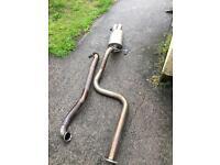 Stainless steel cobra sport exhaust