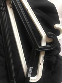 Ikea plastic hangers