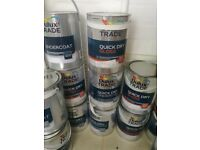 Dulux paint. Gloss and undercoat.