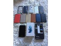 iPhone 6s Plus 128gb Silver with £££ Extras Mophie juice pack