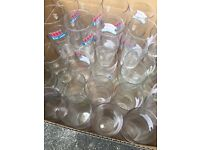 Box of 60 branded assorted pint glasses