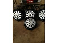2005 Vauxhall Corsa Wheels with center caps and studs 185/55/15