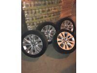 BMW Winter tyres alloys 17 225