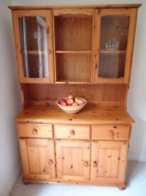 Solid Wooden Pine Dining Room Dresser