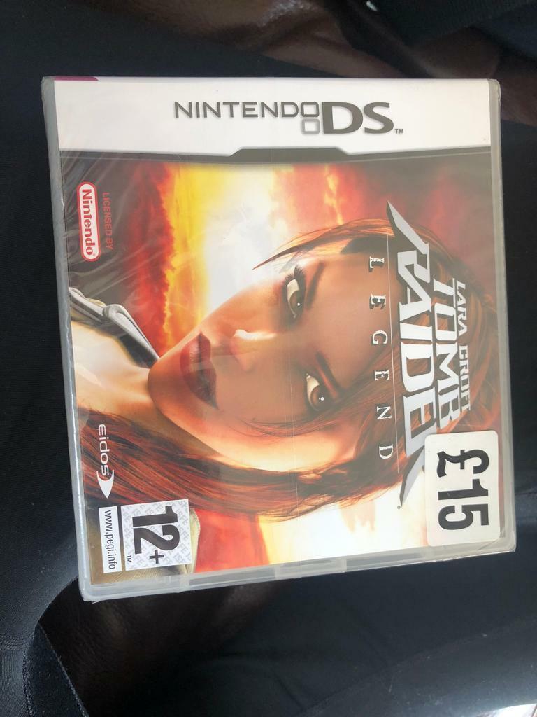 Tomb Raider Legend Nintendo Ds Game In Bridge Of Weir