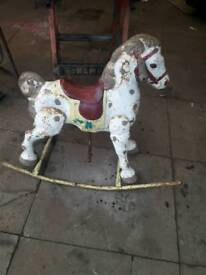 1940s-50s rocking horse/ mobo