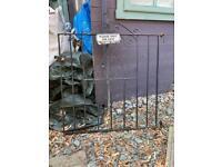 **REDUCED** Wrought Iron Garden Gate