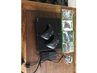 Xbox 1 with 5 Games