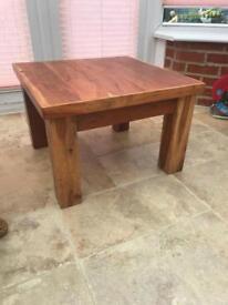 Acacia coffee table/side table