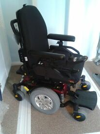 QUANTUM Q6 EDGE ELECTRIC WHEELCHAIR POWER WHEELCHAIR (RED)