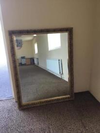 Gold Glided Bevel Mirror