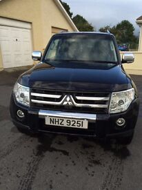 Mitsubishi shogun 3.2did warrier for sale
