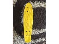 I am selling my penny skateboard because I have stopped and I need some money.