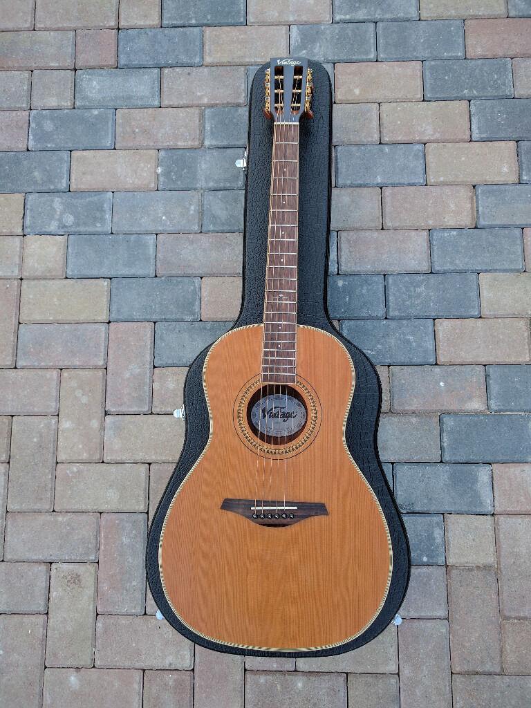 Vintage Parlour guitar V880N