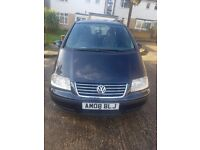 VW Sharan 2008 ,Diesel, Automatic, MPV 7 Seaters Good condition,1 year MOT Offer is welcomed
