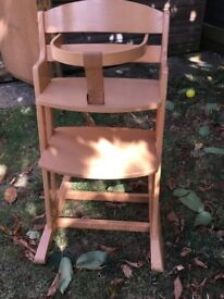 BabyDan baby and toddler high chair