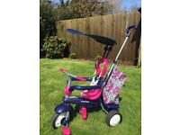 The Original 4 in 1 Smart Trike Pink/Navy MINT condition like new