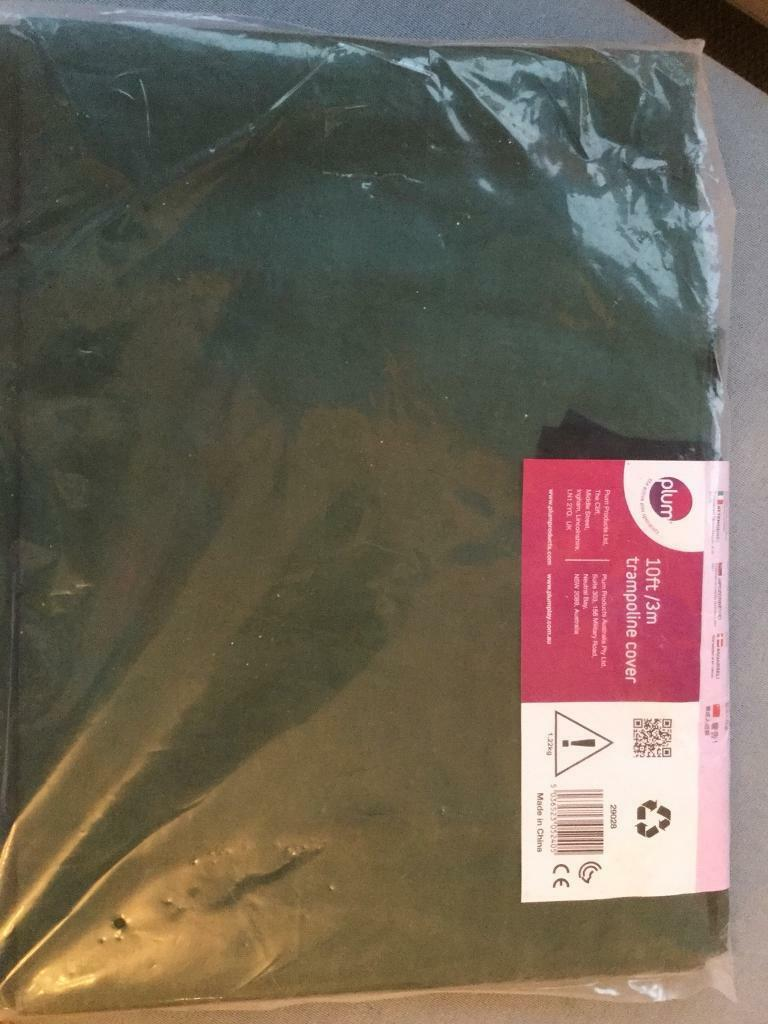 PLUM 10ft/3m trampoline cover. Green. Unopened.