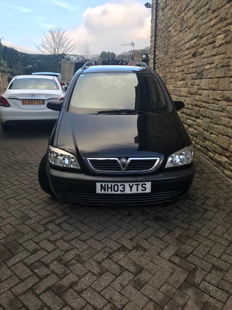 Vauxhall zafira 03 Reg