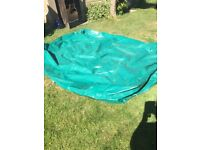 Trailer tent cover