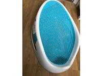 Angelcare Blue Soft-Touch Bath Support seat