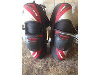 Motocross kit, Arai helmets, boots, knee braces, jt racing kit