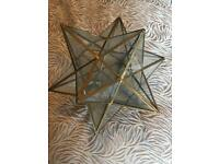 Glass Lampshades Star design