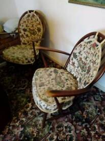 REDUCED PRICE : Pair of Vintage Ercol Chairs