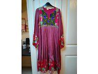 Red/Purple Vintage Dress