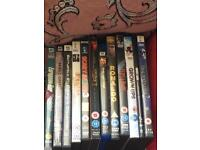 9 films and 3 pc games for sale