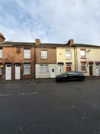 **LET BY** 2 BEDROOM TERRACED HOUSE** NORTH ROAD** ST6 2DN** DSS ACCEPTED** NO DEPOSIT**