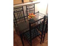 Pristine kitchen table