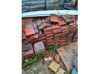 Recycled reclaimed roof tiles x 500